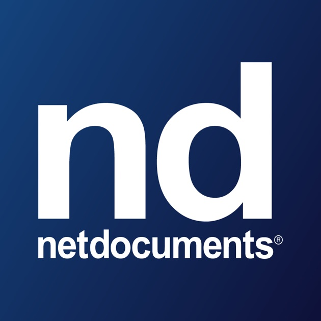 netdocuments on the app store With netdocuments app