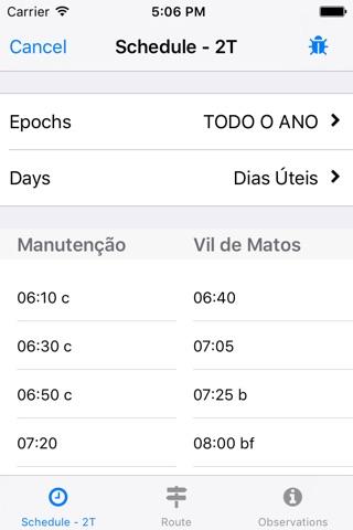 Transportes Urbanos de Coimbra screenshot 3