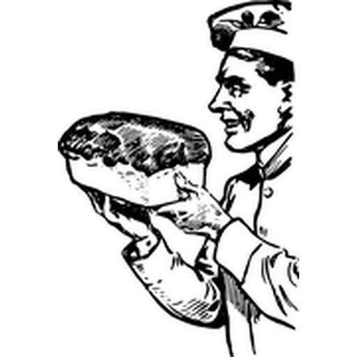 Хлеб стикеров!