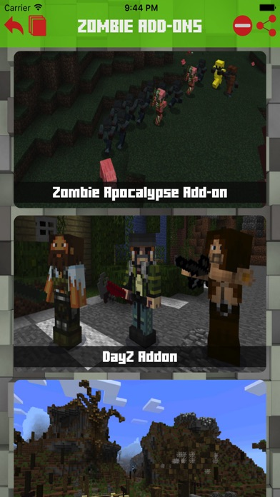 Zombie Addons Maps For Minecraft Pe Pocket Edition review screenshots