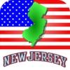 New Jersey Map Transit NJ Bus Train Rail River Map