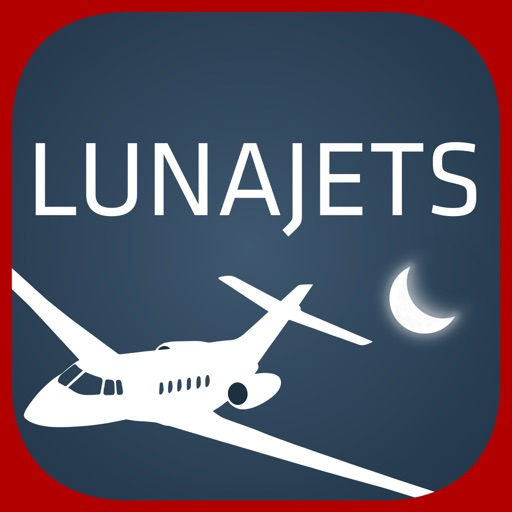 LunaJets - Fly private at the best price iOS App