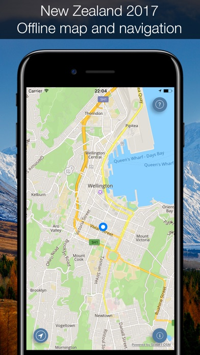 Free Maps Built-in for GPS units