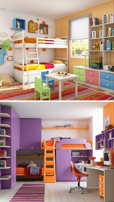 Kids room interior home design ideas for kids app Room design app
