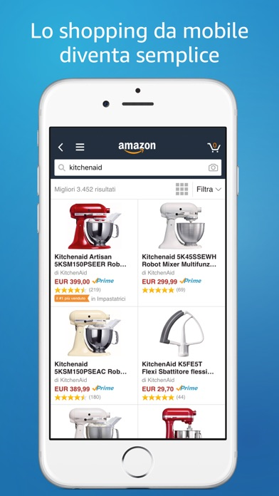 Amazon Mobile Screenshot