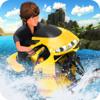 Khayyam Hashmi - Water Surfer Jet Ski Motor Bike Racing- Speed Boat  artwork
