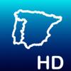 Aqua Map: Portugal y Espanha - GPS Cartas Náuticas