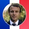 Macron Président 2017-2022 Stickers autocollants