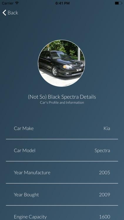 mycar vehicle maintenance log by fizal abdul jamel