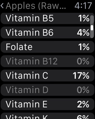 Screenshot #15 for Nutrients - Nutrition Facts