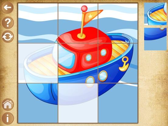 Детские Пазлы игры для мальчиков , детей и малышей для iPad