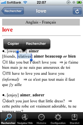 French Dictionaries screenshot 2