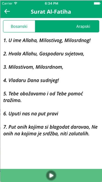 download KUR'AN Bosanski prijevod - čitaj i slušaj apps 3