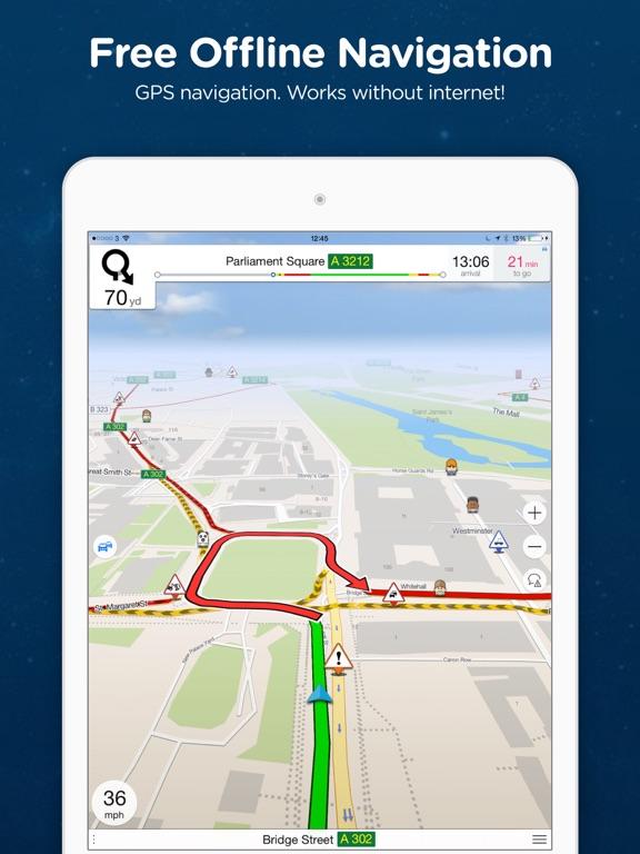 Navmii GPS Sweden Offline Navigation And Traffic On The App Store - Sweden map gps