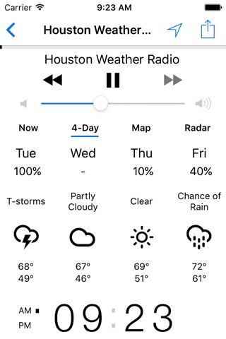 NOAA Weather Radio screenshot 3
