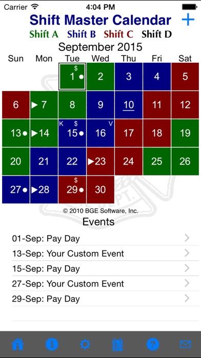 download Shift Master Shift Calendar apps 2