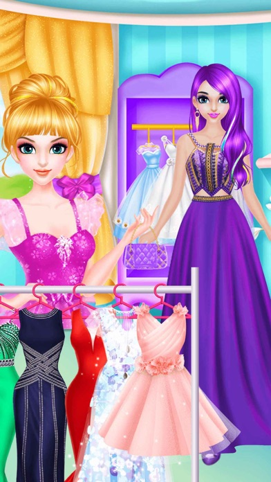 Magic games of girl