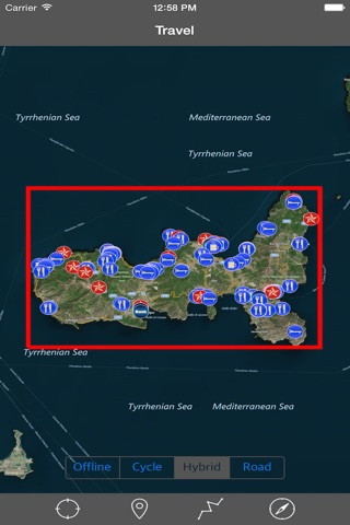 ELBA ISLAND – GPS Travel Map Offline Navigator screenshot 1