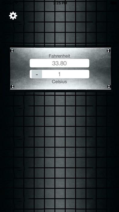 Fahrenheit Celsius Screenshot 2