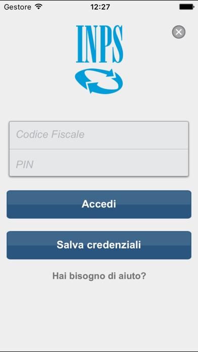 INPS mobile Screenshot