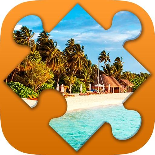 Puzzle paysages gratuit avec niveau pour adultes par Gadget Software Development and Research LLC