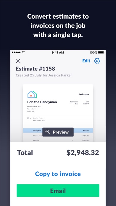 Invoice 2Go — Professional Invoices And Estimates On The App Store