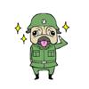 Brave Soldier Pug Dog Stickers Wiki