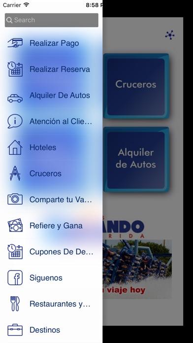 Screenshot of Somos Florida App
