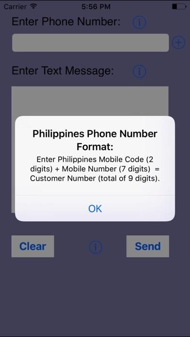 SMS Philippines-Send ... screenshot1