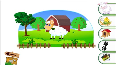 حيوانات مسلية للاطفال اصوات - اسماء - صورلقطة شاشة4