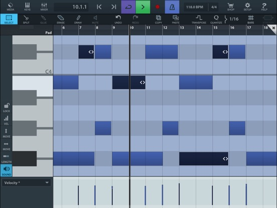 Cubasis 2 - Mobile Music Creation System Screenshot