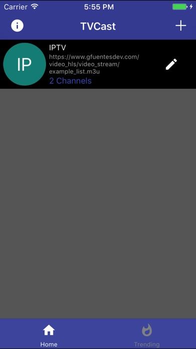 TVCast Pro IPTV on your TV Screenshot