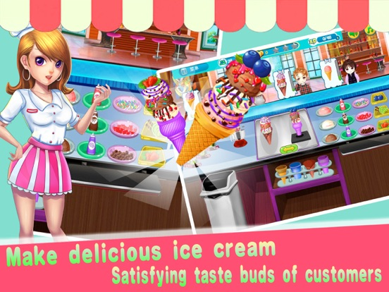 App shopper ice cream restaurant games
