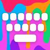 RainbowKey - teclado temas fuentes originales GIF