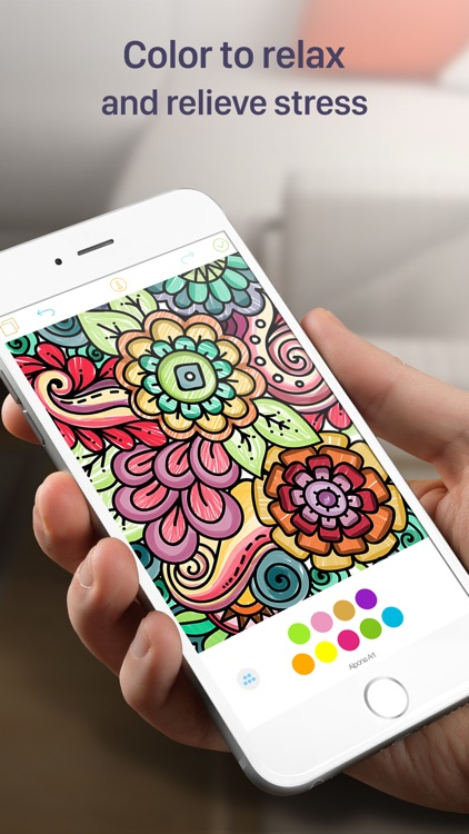 Coloring Book For Adults Stress Free App
