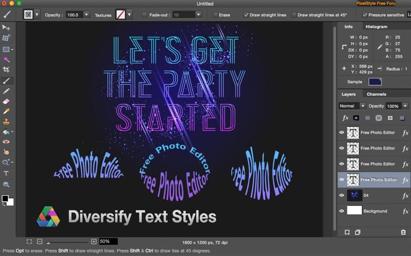 Photo Editor PixelStyle: Filters, Image Editing 앱스토어 스크린샷
