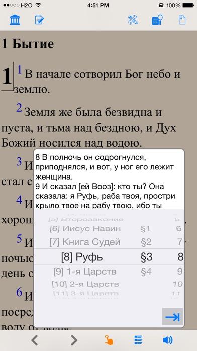 Библия (текст и аудио)(audio)(Russian Bible) Скриншоты5