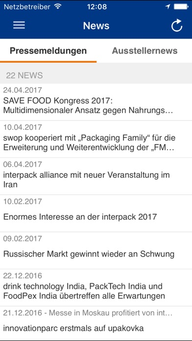 Screenshot von Interpack3