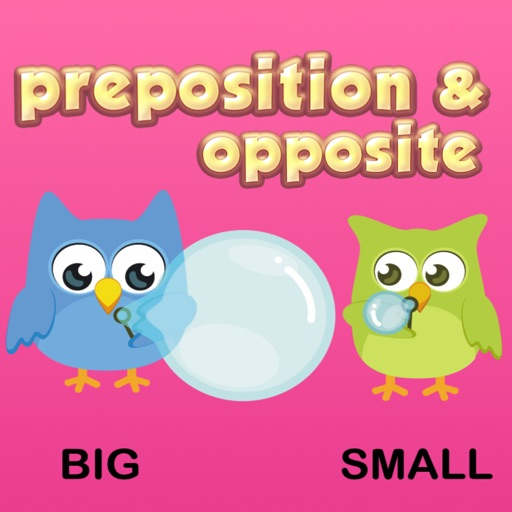 Preposition & Opposite Words Vocabulary For Kids By Nisit ...