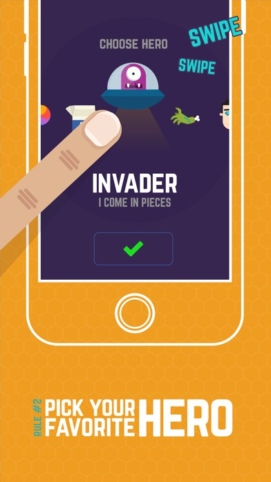 Finger Hero: Avoid Obstacles Screenshot