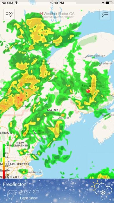 Weather Radar Canada Rain on the App Store