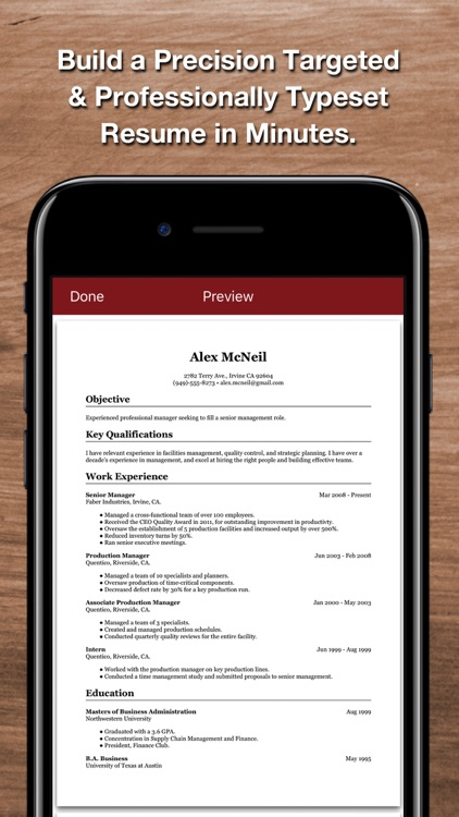 Resume Star 2 by Qrayon, LLC