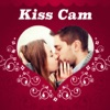 Kiss cam - photo frames marks