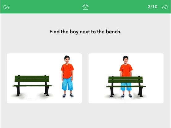 Screenshot #2 for Prepositions by Teach Speech Apps