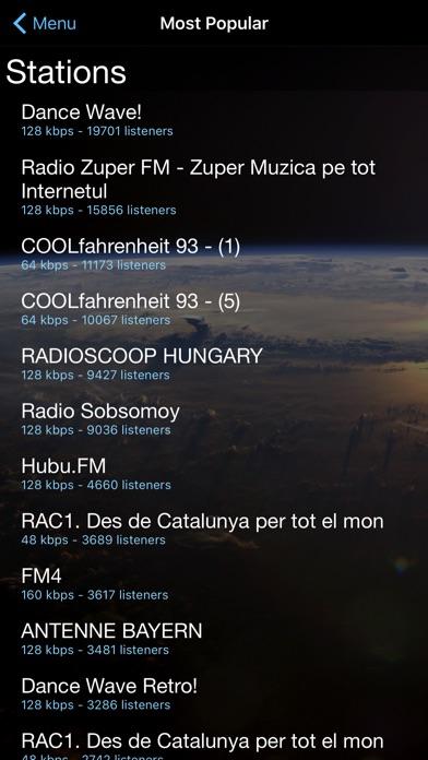 Cloud Radio Pro review screenshots