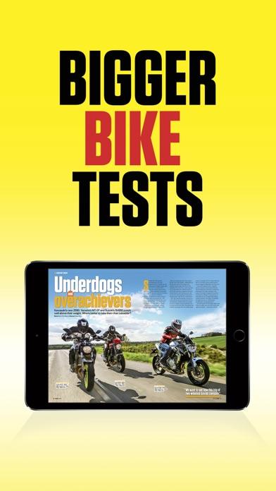 Ride Magazine review screenshots