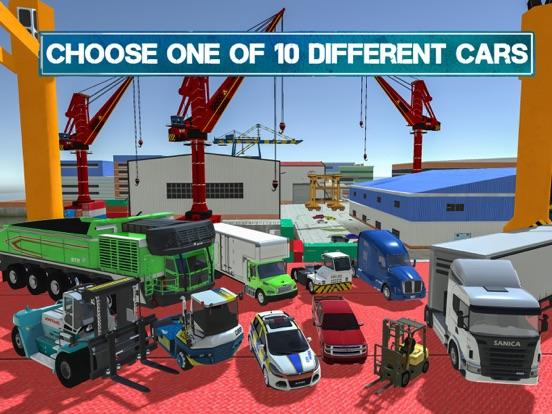 Игра Cargo Crew: Port Truck Driver