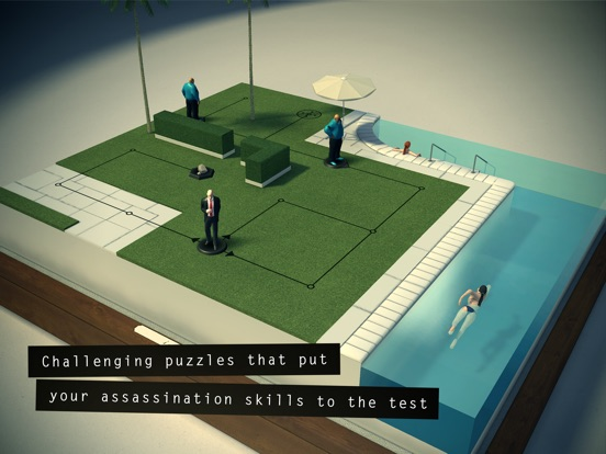 Screenshot #1 for Hitman GO