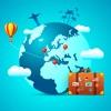 Voyages - Autocollants pour iMessage