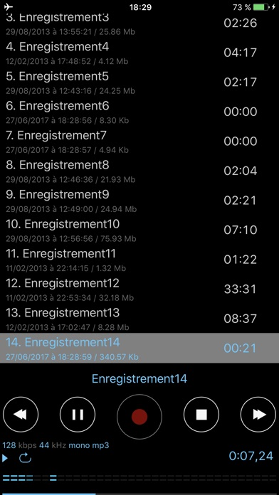 download Dictaphone - Enregistreur Audio apps 4